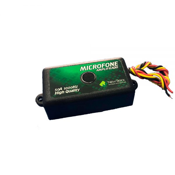 Micrófono Amplificador MCF NB new back foto2
