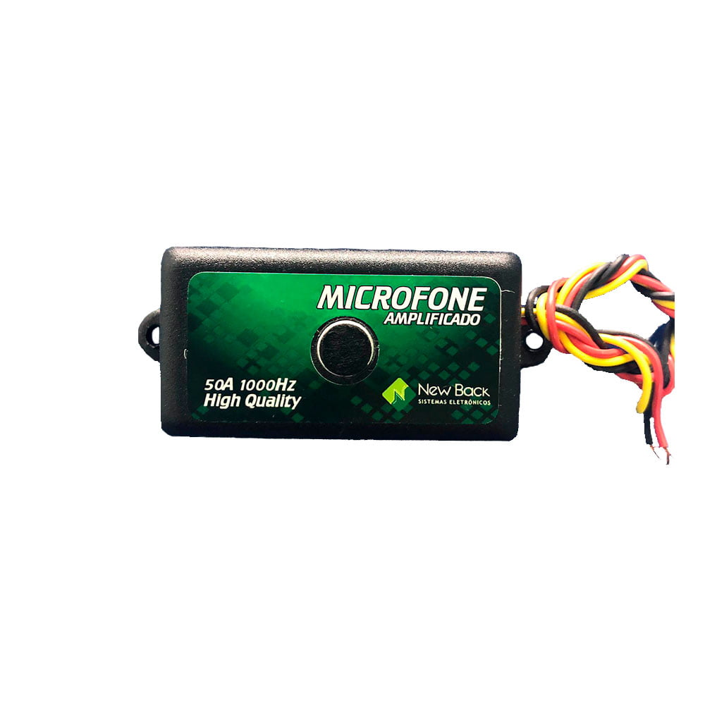 Micrófono Amplificador MCF NB new back